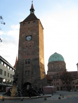 Weißer Turm in Nürnberg